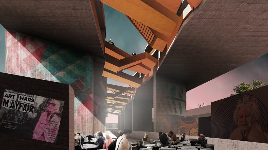 Vista Interior Talleres de Arte